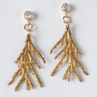 Whispering Cedar Earrings