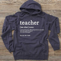 Definition Of Teacher Personalized Hanes Adult..