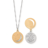 Looking At The Same Moon Necklace