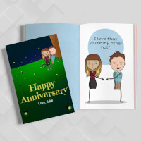 Personalized 10th Anniversary Book   LoveBook..