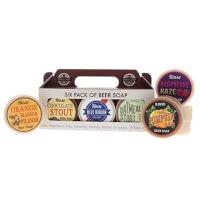 6-Pack Beer Soaps