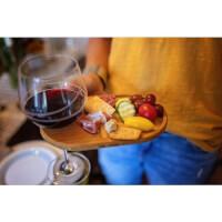 Wine & Appetizer Plates (Set Of 4)
