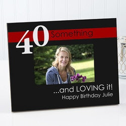 Gifts for Dad:Personalized Birthday Photo Frame