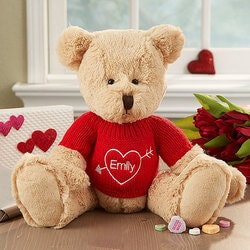 Personalized Valentines Day Gifts for Girlfriend:Personalized Teddy Bear