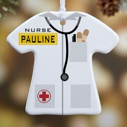Gifts for Doctors:Personalized Christmas Ornaments - Medical..