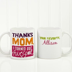 Gifts for Mom:Personalized Coffee Mugs