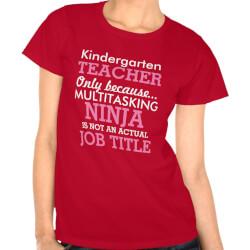 Kindergarten Teacher Appreciation T-Shirt