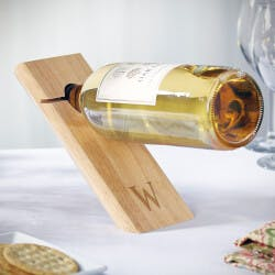 Balancing Act Personalized Wine Bottle..