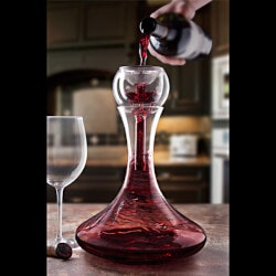 Christmas Gifts for Mom Under $50:Trevi Aerating Wine Decanter