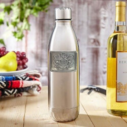 Wine Gifts:Wineteen Wine Bottle Canteen With Crest
