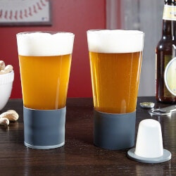 Christmas Gifts for Grandfather:Self-Chilling Beer Glasses