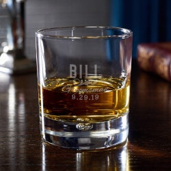 Personalized Gifts for Men:Classic Groomsman Gift Personalized Whiskey..