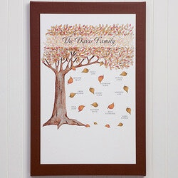 Gifts for Mom:Fall Family Tree