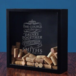 Personalized Gifts for Mom:Drink Together Stay Together Box