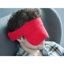 Compact Travel Pillow & Mask