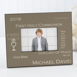 Personalized First Communion Photo Frames -..