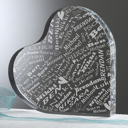 Romantic Valentines Day Gifts for Men:Personalized Valentines Day Keepsake Gifts..