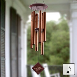 Christmas Gifts for Mom Under $100:Personalized Wind Chimes