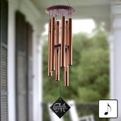 Personalized Wind Chimes - Monogram