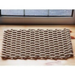 The Rope Co.: Nautical Door Mat - Sand &..