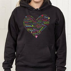 Personalized Womens Hooded Sweatshirts -..
