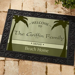 Retirement Gifts:Personalized Doormat