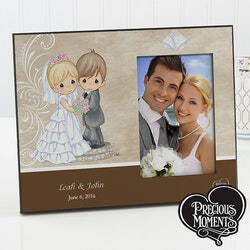 Unusual Gifts (Under $50):Personalized Precious Moments Picture Frames..