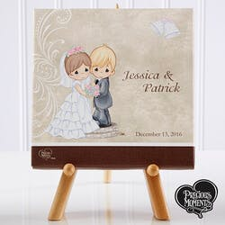 Personalized Precious Moments Bride & Groom..