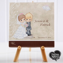 Romantic Gifts:Personalized Precious Moments Bride & Groom..