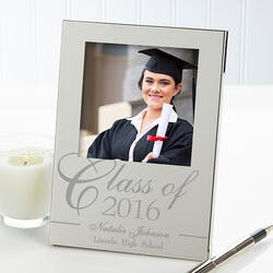 Personalized Silver Picture Frames -..