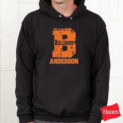Personalized Gifts for 13 Year Old  Son:Personalized Athletic Sweatshirts