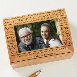 Personalized Photo Keepsake Box - Definition..