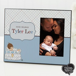 Gifts for Baby Under $50:Personalized Christening Picture Frames -..