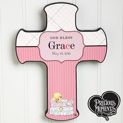 Personalized Christening Wall Cross -..