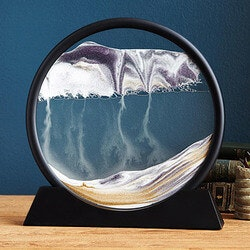 Retirement Gifts for Boss Under $100:Deep Sea Sand Art