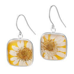 Birth Month Flower Earrings
