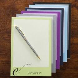 Personalized Gifts:Personalized Stationery Notepad - Stylish..