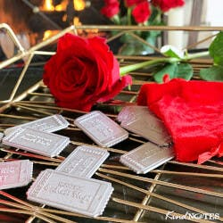 Silver Keepsake Love Tickets Love Coupons -..