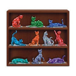Crystalline Cat Figurines Inspired By Rare..