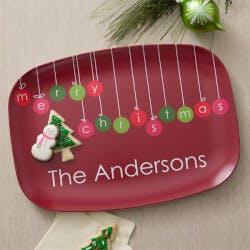Personalized Christmas Platter - Christmas..