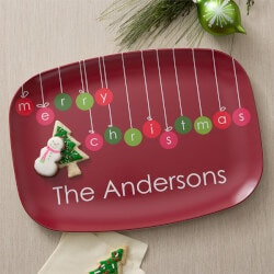 Personalized Christmas Platter - Christmas..
