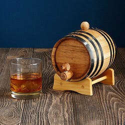 Whiskey And Rum Making Barrel