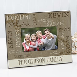 Christmas Gifts for Women Under $25:Personalized Photo Frames