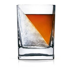 Fathers Day Gift Ideas:Whiskey Wedge And Glass