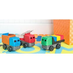 Eco-Friendly Toy Trucks