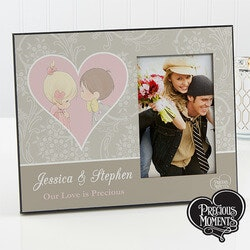 Personalized Valentines Day Gifts for Girlfriend:Custom Picture Frames For Couples - Precious..