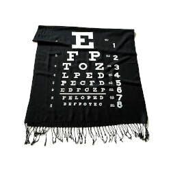 Cyberoptix: Eye Chart - Pashmina