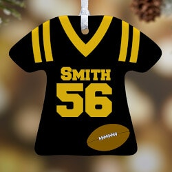 Personalized Gifts (Under $10):Personalized Sports Christmas Ornaments -..