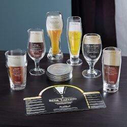 Beer Fathers Day Gifts:Aspiring Connoisseur Beer Tasting Set, 13..