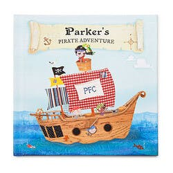 Personalized Pirate Adventure Book